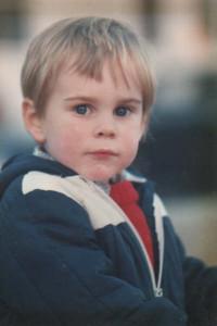 andrew aged 4